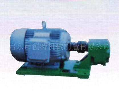 WBZ型齿轮泵装置_稀油润滑